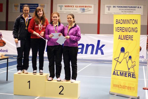 Competitie & toernooien - Badminton Vereniging Almere Badminton Nederland Competitie